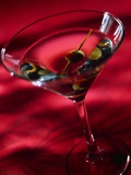 Martini with Olive Photographic Print by Danilo Calilung