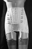 Girdle with Garters Displayed on Mannequin Photographic Print by Philip Gendreau