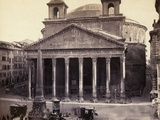 Rome's Pantheon General View Photographic Print by  Bettmann