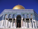 Exterior and Front View of Dome of the Rock Photographic Print by Jim Zuckerman