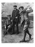 Golf Big Triumvirate Giclee Print by Bettmann