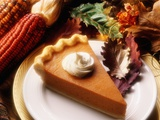Piece of Pumpkin Pie Photographic Print by Tracey Thompson