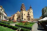 Baroque Basilica of Nuestra Senora De Guanajuato Photographic Print by Danny Lehman