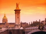 Sunrise at Pont Alexandre-III Photographic Print by Bill Lai