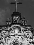 Cross atop Igreja da Ordem Terceira de Sao Francisco Photographic Print by Paul Edmondson