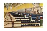 Sunset Bowling Center Giclee Print