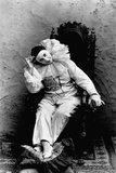 Pilar Morin in Clown Costume Photographic Print by B.j. Falk
