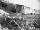 Niagara Falls in Winter Photographic Print
