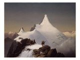 Mountain Scene by Marcus Pernhart Giclee Print by Ali Meyer