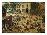 Juegos Lmina gicle por Pieter Bruegel the Elder