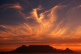 Sunset over Table Mountain Photographic Print by Charles O'Rear