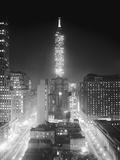 View of the Empire State Building in Winter Photographic Print