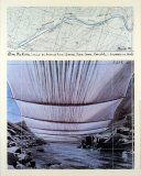 Arkansas River from Underneath Prints by  Christo