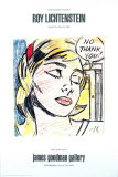 No, Thank you! Affischer av Roy Lichtenstein