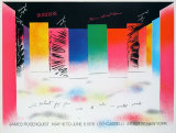 """Horizon"" Prints by James Rosenquist"