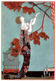 Fashion Illustration, 1914 Plakater av Georges Barbier