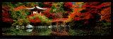 Santuario de Daigo, Kyoto (Japón) Póster por Umon Fukushima
