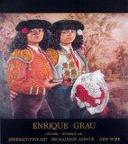 Las Toreras Samlertryk af Enrique Grau