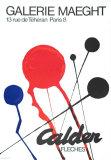 Blitze Kunstdrucke von Alexander Calder