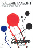 Fleches Prints by Alexander Calder