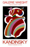 La Forme Rouge, 1938 Collectable Print by Wassily Kandinsky