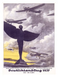German Air Corps Flight, c.1937 Giclee Print