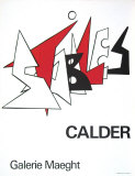 Stabiles, 1963 Collectable Print by Alexander Calder