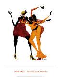 Mamas lieben Mambo Kunstdrucke von Shan Kelly
