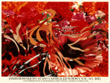 Pearls before Swine, Flowers before Flames Collectable Print by James Rosenquist