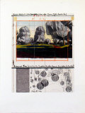 Wrapped Trees IV Prints by Christo 