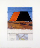 Mastaba of Abu Dhabi Prints by  Christo