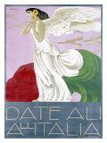 Date Ali All'Italia Giclee Print by Alberto Bianchi