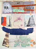 At Leo Castelli&#39;s, 1980 Collectable Print by Robert Rauschenberg