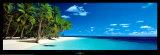 Praia da Ilha, Maldivas, Oceano Índico Norte Posters por Kenrou Kimura