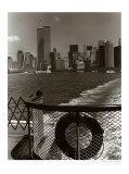 Manhattan from Ferry Posters by Christopher Bliss