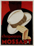 Chapeaux Mossant Posters by Olsky 