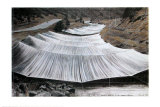 Over the River, Project for Colorado, From Above Poster av Christo