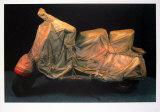 Vespa drapé Art par  Christo