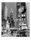 Chrysler Clock, Madison Avenue Posters by Henri Silberman