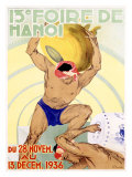 13a Fiera di Hanoi Vietnam Indocina Stampa giclée di Z. Nuyen