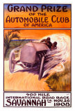 Automobile Club of America, Savannah Race Giclee Print by Malcolm A. Strauss