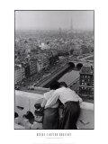 Vue des tours de Notre-Dame Affiches par Henri Cartier-Bresson