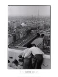 Henri Cartier-Bresson - View from the Towers of Notre Dame Obrazy