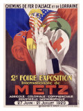 2nd Foire Exposition, Metz Giclee Print by J. J. Stall