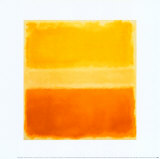 Yellow and Gold Posters af Mark Rothko