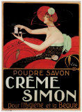 Creme Simon Print by Emilio Vila