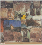 Atelier au sphinx Affiche par Robert Rauschenberg