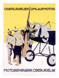 WWI, German Oberursel Aircraft Aviation Giclee Print