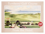 London Midland Scotland Railway, Turnberry Golf Course Giclee Print