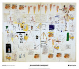 Icarus Himself Prints by Jean-Michel Basquiat